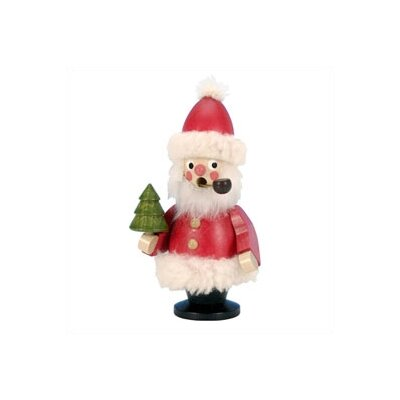Red Santa Incense Burner