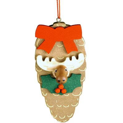 Christian Ulbricht Elk Pinecone Ornament