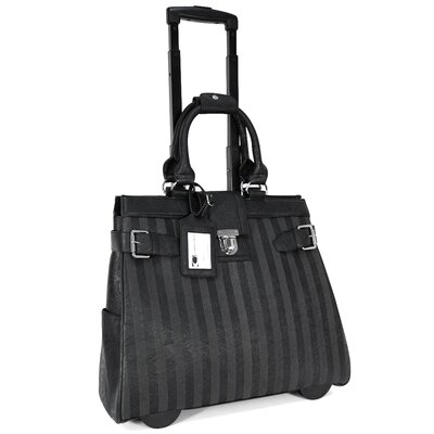 Cabrelli Inc Lazer Stripes Laptop Briefcase