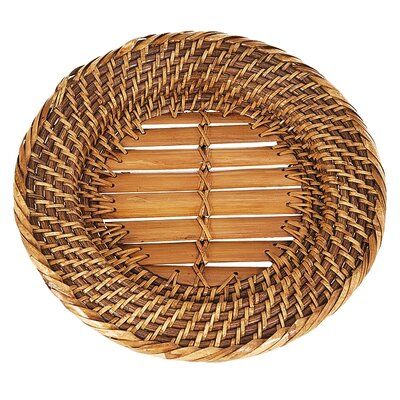 Eco Displayware Eco-Friendly Lombok Weave Round Charger
