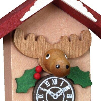 Alexander Taron Christian Ulbricht Elk on Cuckoo Clock Ornament