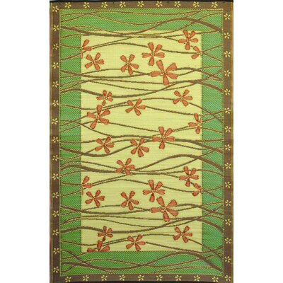 Tall Grass Pine Gold Rug