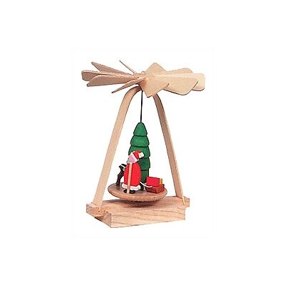 Richard Glaesser Wood Mini Santa Pyramid