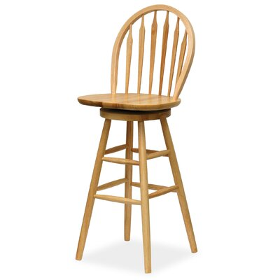 "Winsome Basics 30"" Swivel Bar Stool"