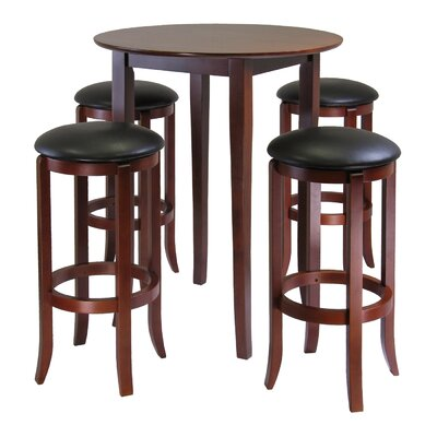 Winsome Fiona Round High Pub Table (Set of 5)