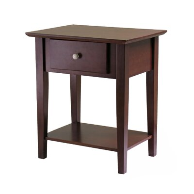 Winsome Shaker 1 Drawer Nightstand