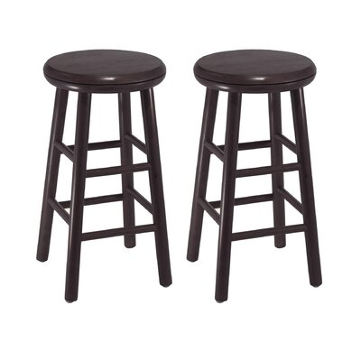 "Winsome Espresso 24"" Swivel Bar Stool"
