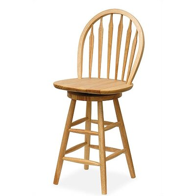 "Winsome Basics 24"" Swivel Bar Stool"