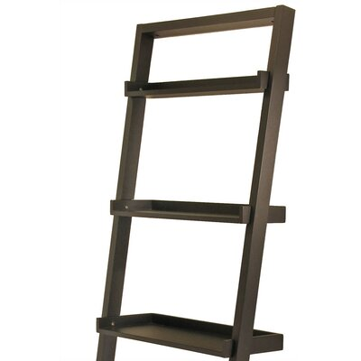 "Winsome Bailey Leaning 74.6"" Bookcase"