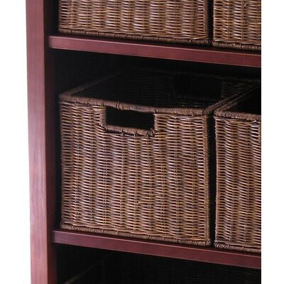 Winsome Milan Storage Shelf and Baskets