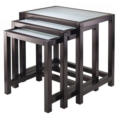 Winsome Copenhagen 3 Piece Nesting Tables