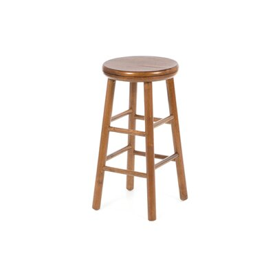 "Winsome 24"" Backless Swivel Counter Stool (Set of 2)"