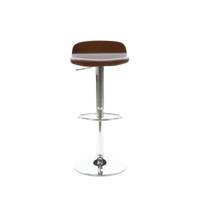 Winsome Kallie Air Lift Adjustable Stool in Cappuccino (Set of 2)