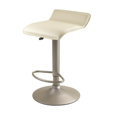 Winsome Adjustable Airlift Bar Stool in Creeme