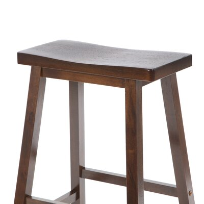 "Winsome Bar Stool - Saddle Seat 29"" in Walnut"