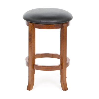 "Winsome Antique Walnut 24"" Swivel Bar Stool"