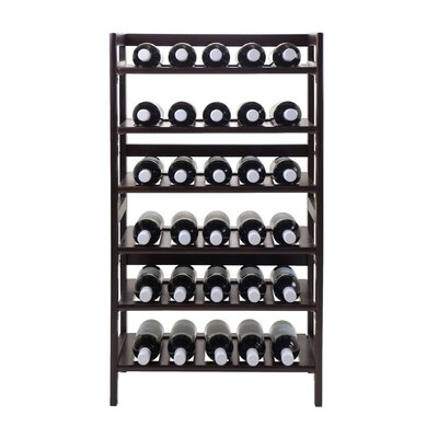 Silvi 30 Bottle Tabletop Wine Rack