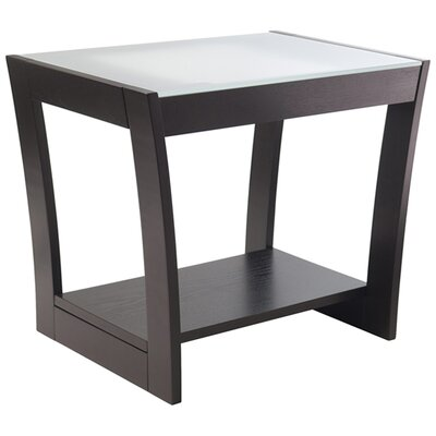 Winsome Radius End Table
