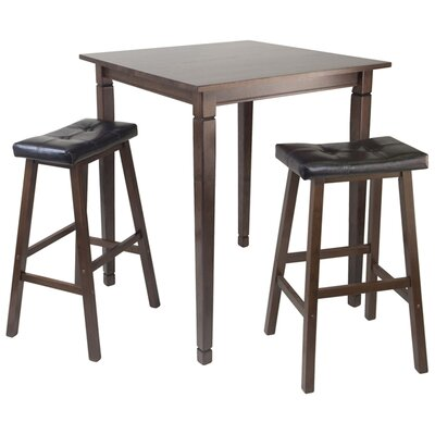 Winsome Kingsgate 3 Piece Pub Table Set