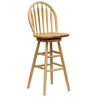"Winsome Basics Natural 30"" Swivel Bar Stool"