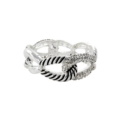 Roman Artisan Stretch 4Curv Link Bangle