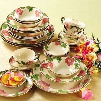 Desert Rose 28 Piece Dinnerware Set