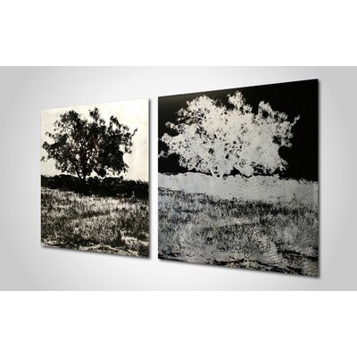Metal Art Studio Trees Wall Art