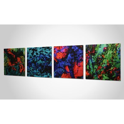 Metal Art Studio Bright Lights Wall Art