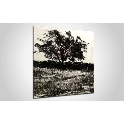 Metal Art Studio Tree Black Wall Art