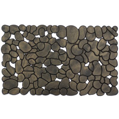 Entryways Rubber Stones Doormat