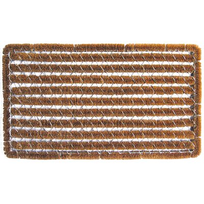 Entryways Bootscraper Wire Brush Shag Doormat
