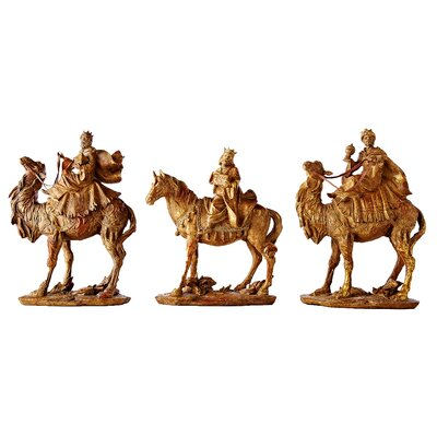 Bombay Heritage Wise Men Nutcracker