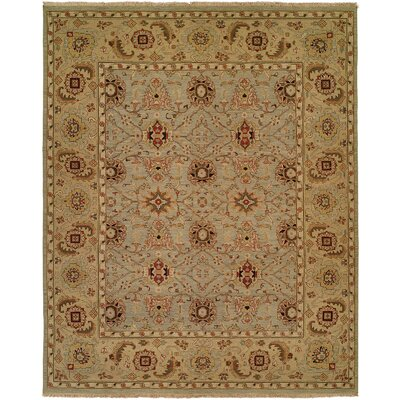 Wildon Home ® Light Blue / Light Gold Rug