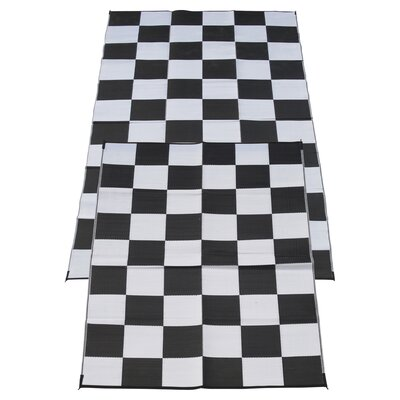 Racing Checks Checkered Flag Mat