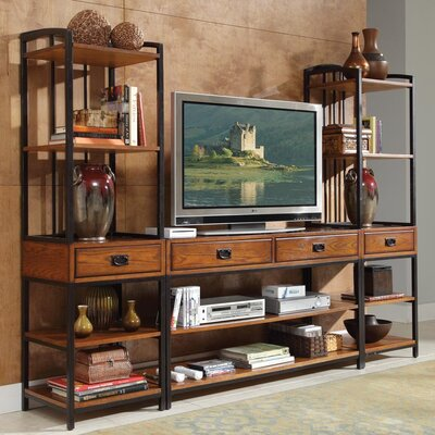 Home Styles Modern Craftsman Entertainment Center
