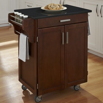 Kitchen Cart with Granite Top for Sale | Wayfair