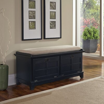 Arts and Crafts Upholstered Entryway Bench