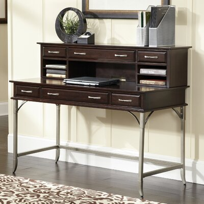 Home Styles Bordeaux Executive Desk with Hutch