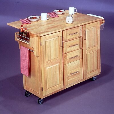 Home Styles Breakfast Bar Kitchen Cart