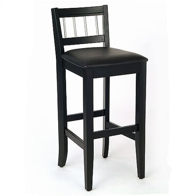 Home Styles Manhattan Pub Stool in Black