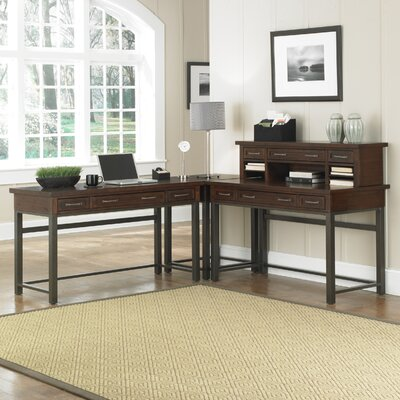Home Styles Cabin Creek L-Shape Desk Office Suite