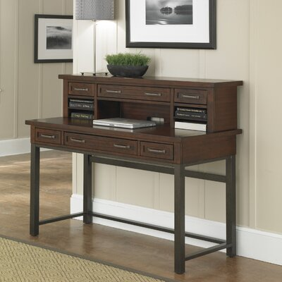 Home Styles Cabin Creek Executive Desk with Hutch
