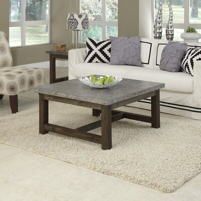 Home Styles Concrete Chic Coffee Table Set