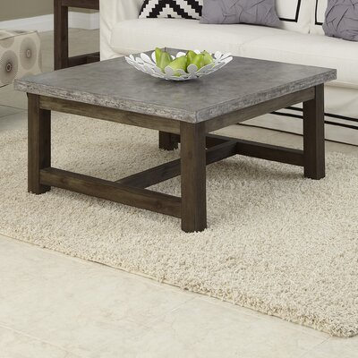 Home Styles Concrete Chic Coffee Table