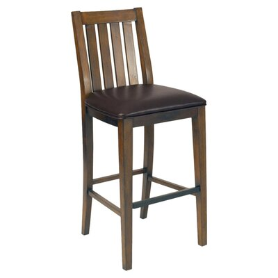 "Arts & Crafts 30"" Bar Stool"