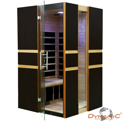 Dynamic Infrared 2 Person Modern Carbon FAR Infrared Sauna