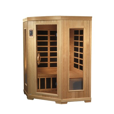 Dynamic Infrared Grand 2-3 Person Corner Carbon FAR Infrared Sauna