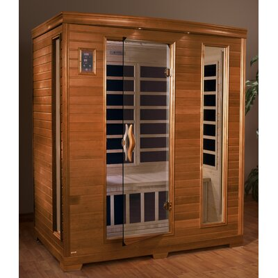 Dynamic Infrared Grand 3 Person Carbon FAR Infrared Sauna