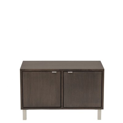 Urbangreen Furniture High Line Double Multimedia Cube with Doors