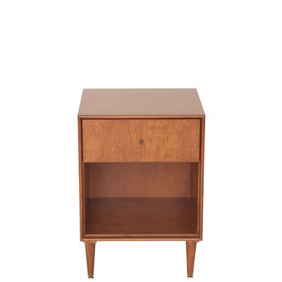 Urbangreen Midcentury 1 Drawer Nightstand
